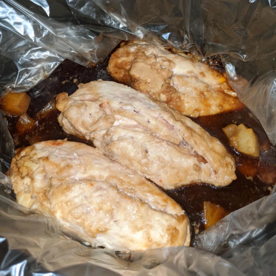 Slow Cooker Pineapple Chicken Sean Somerville
