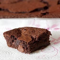 Amaretto Brownies Elaine