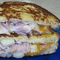 Apple Ham Grilled Cheese Mrs.Williams