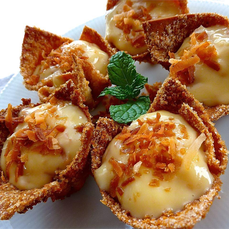 Coconut Cream Tarts