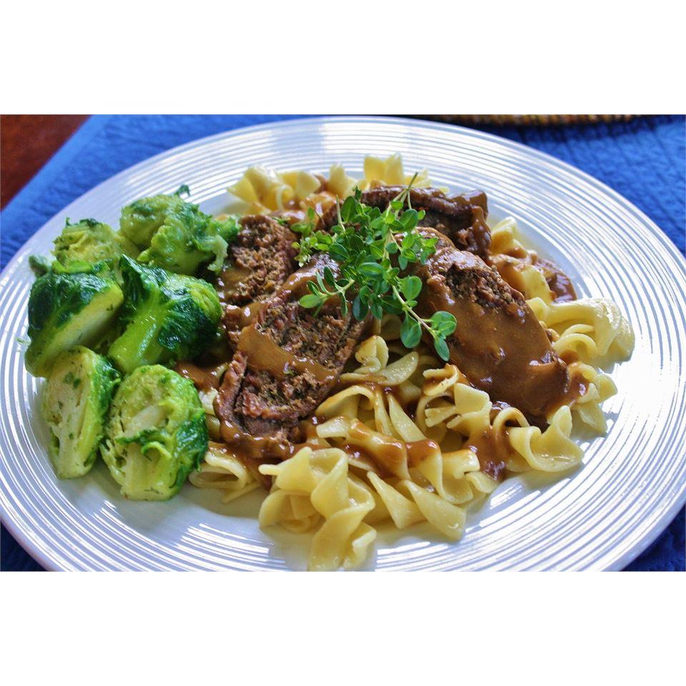 Mushroom Stuffed Beef Rouladen naples34102