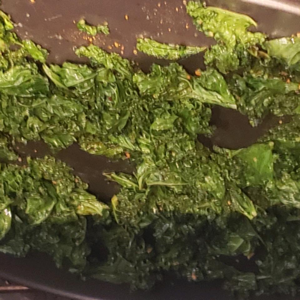 Baked Kale Chips Adeana VanMeter