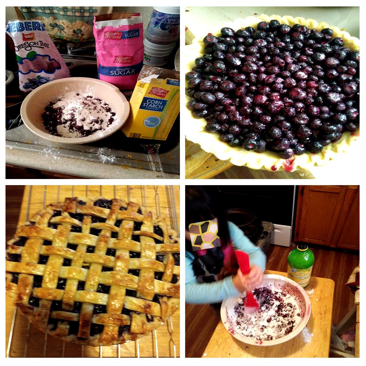 Blueberry Pie with Frozen Berries JC Salazar