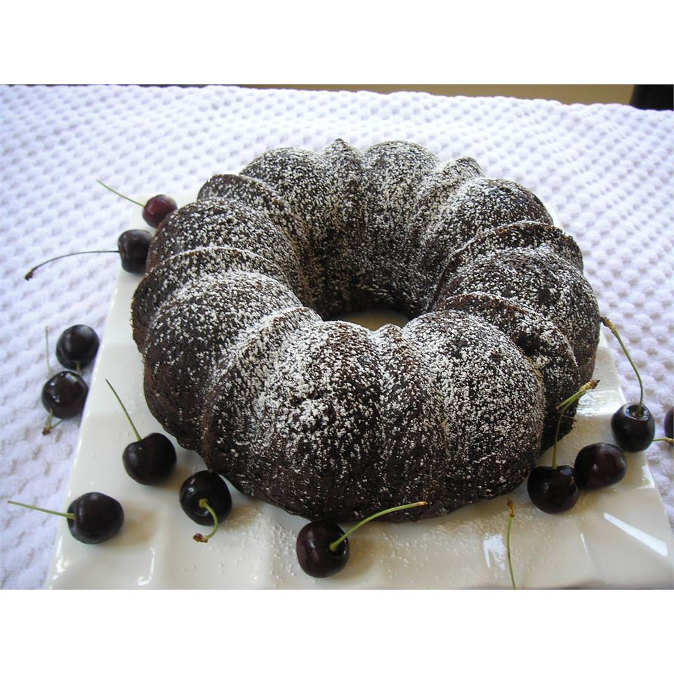 Chocolate Chip-Amaretto Pound Cake