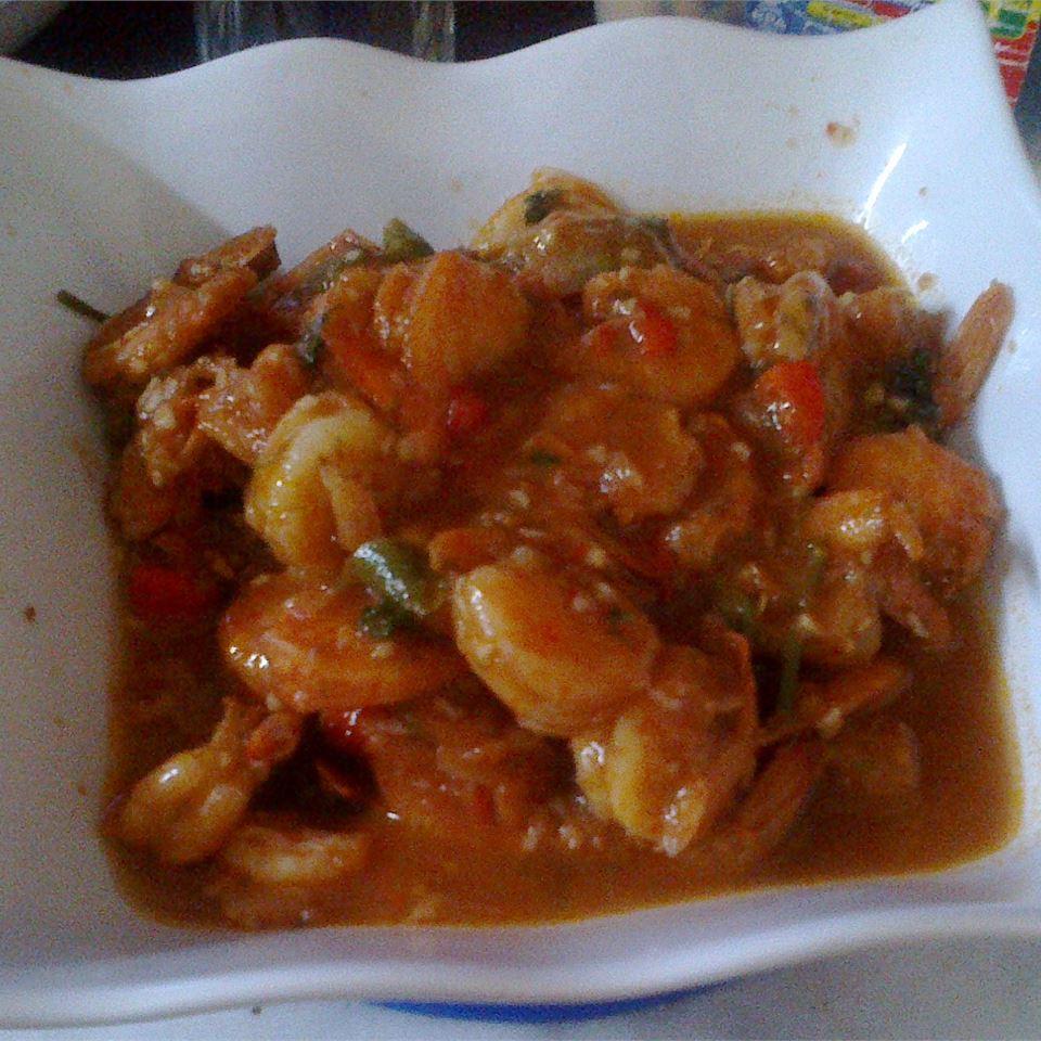 Camarones al Ajillo (Garlic Shrimp) fantasia