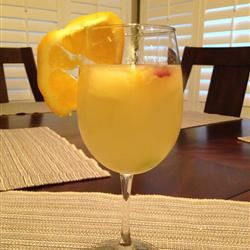 White Sangria with Lemonade