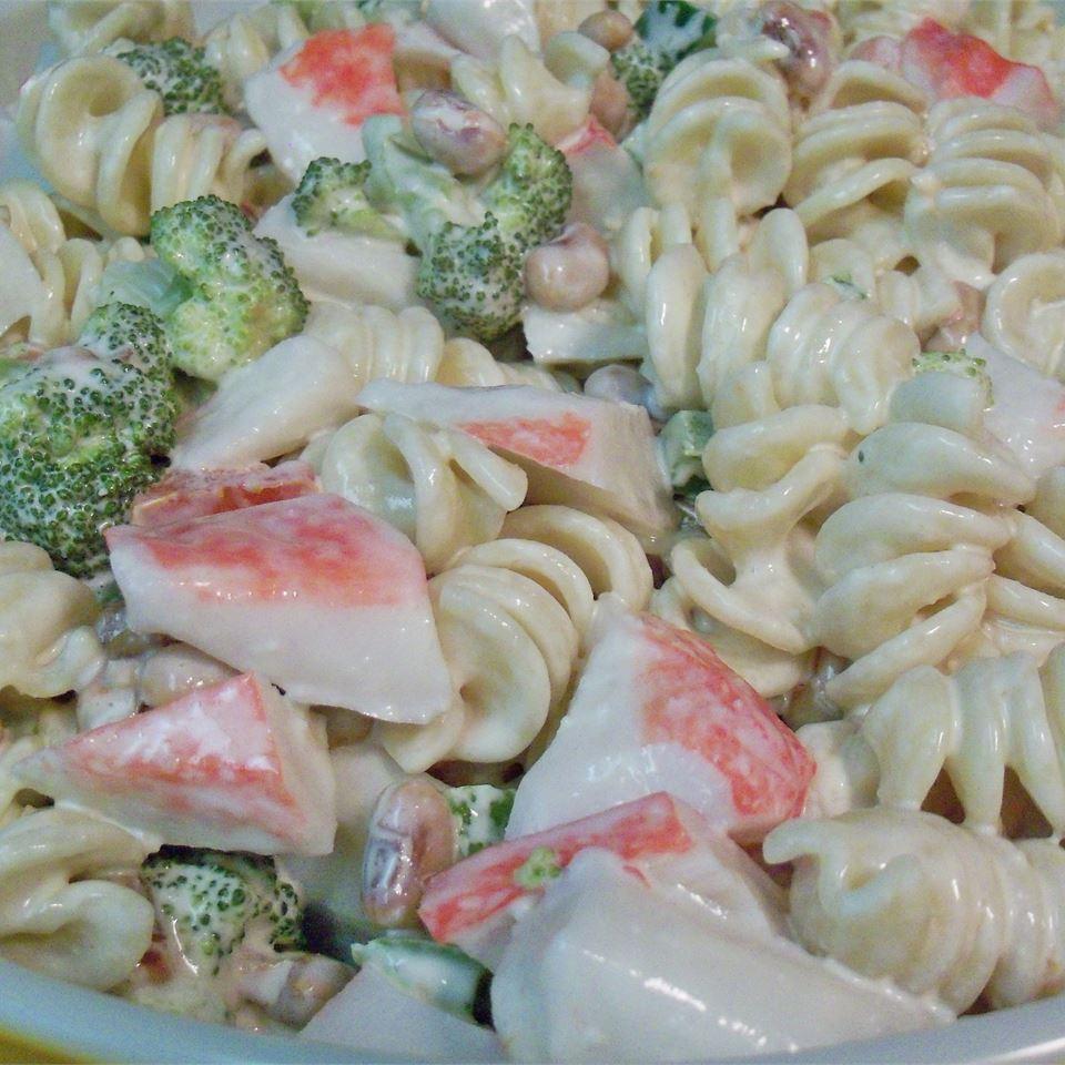 Seafood Pea-Asta Salad