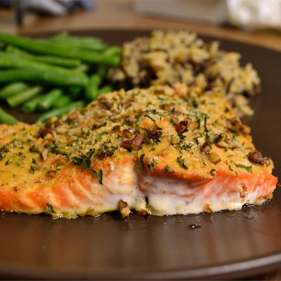 Baked Dijon Salmon Esmee Williams