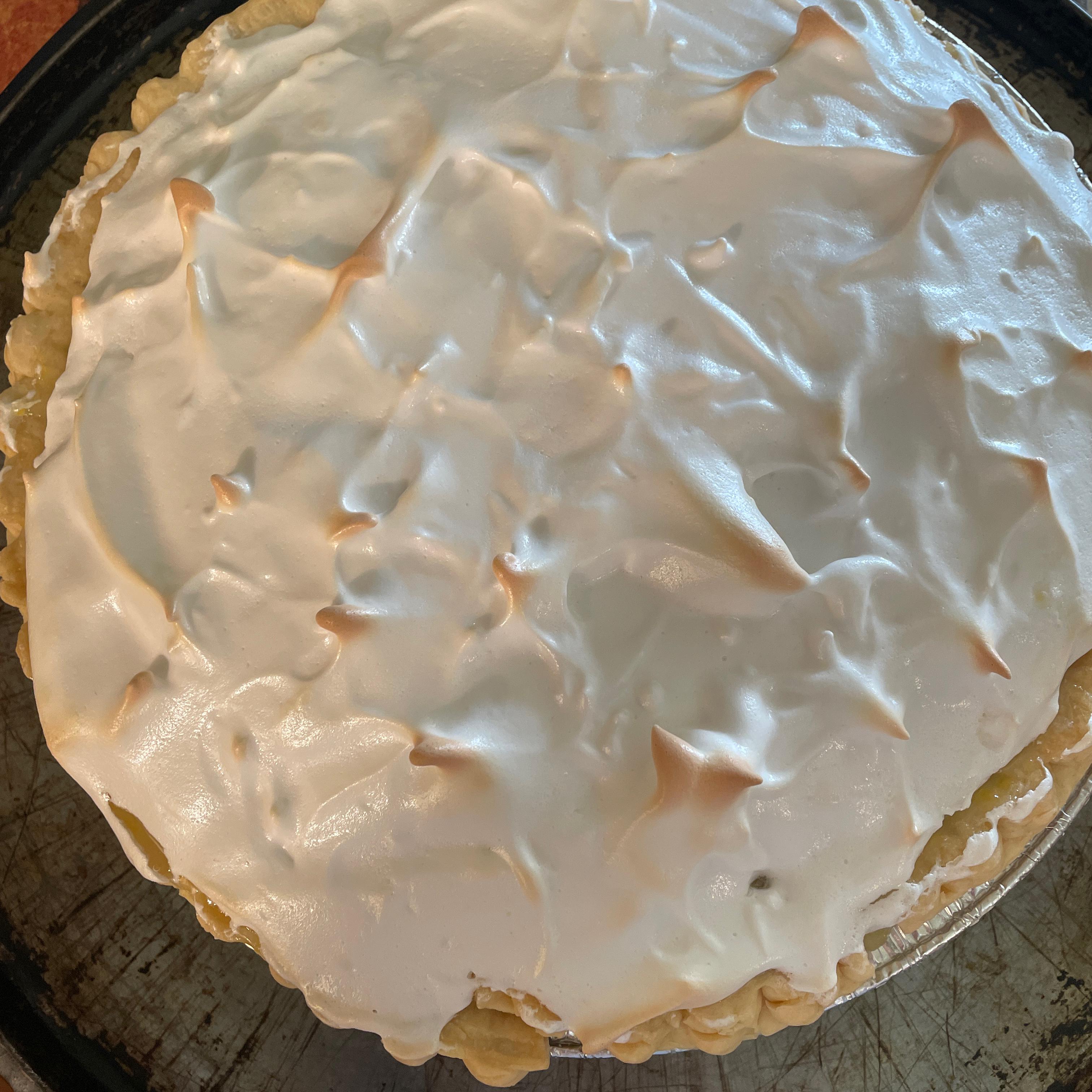 Lemon Meringue Pie II