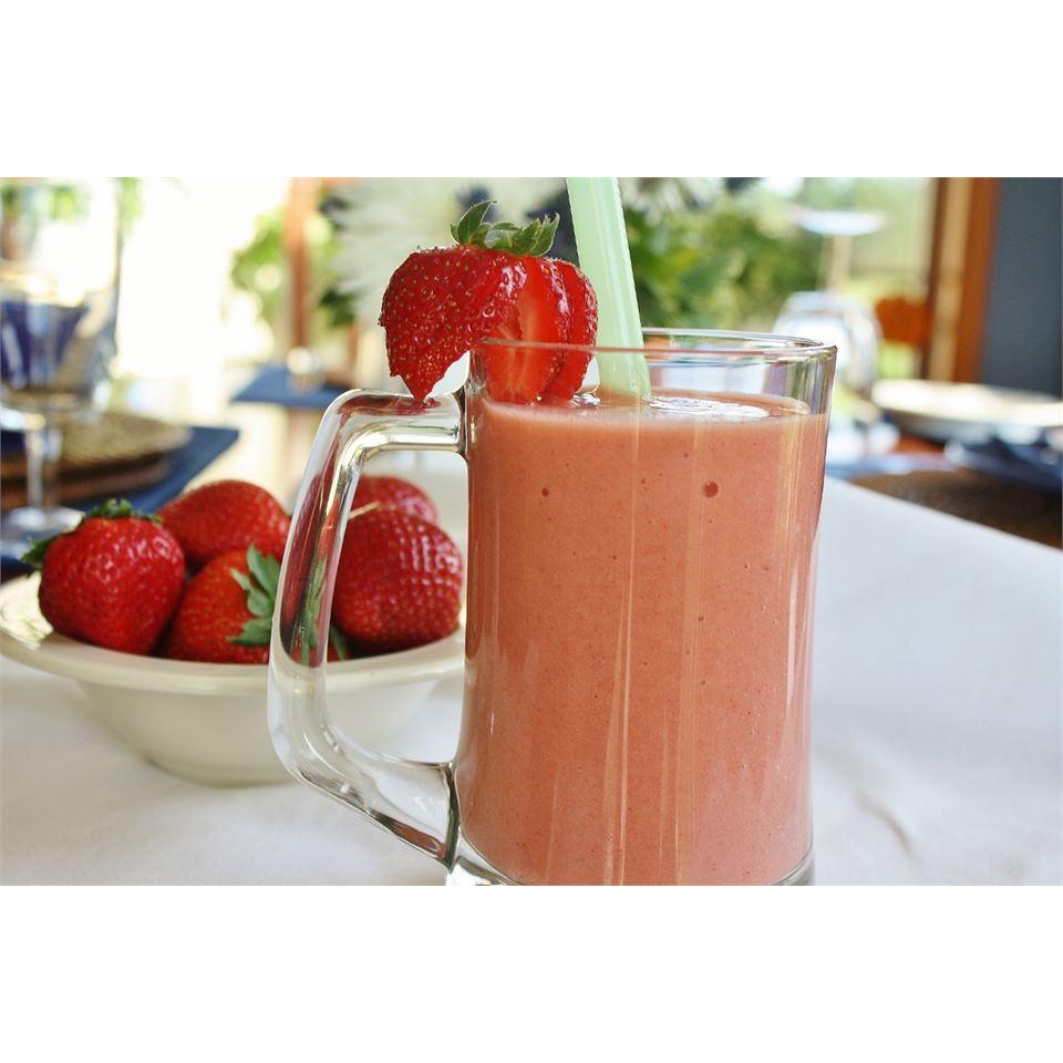 Strawberry Orange Banana Smoothie naples34102
