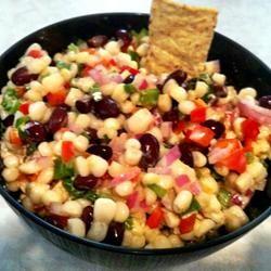 Amy's Creamy Black Bean Corn Salsa lovestohost