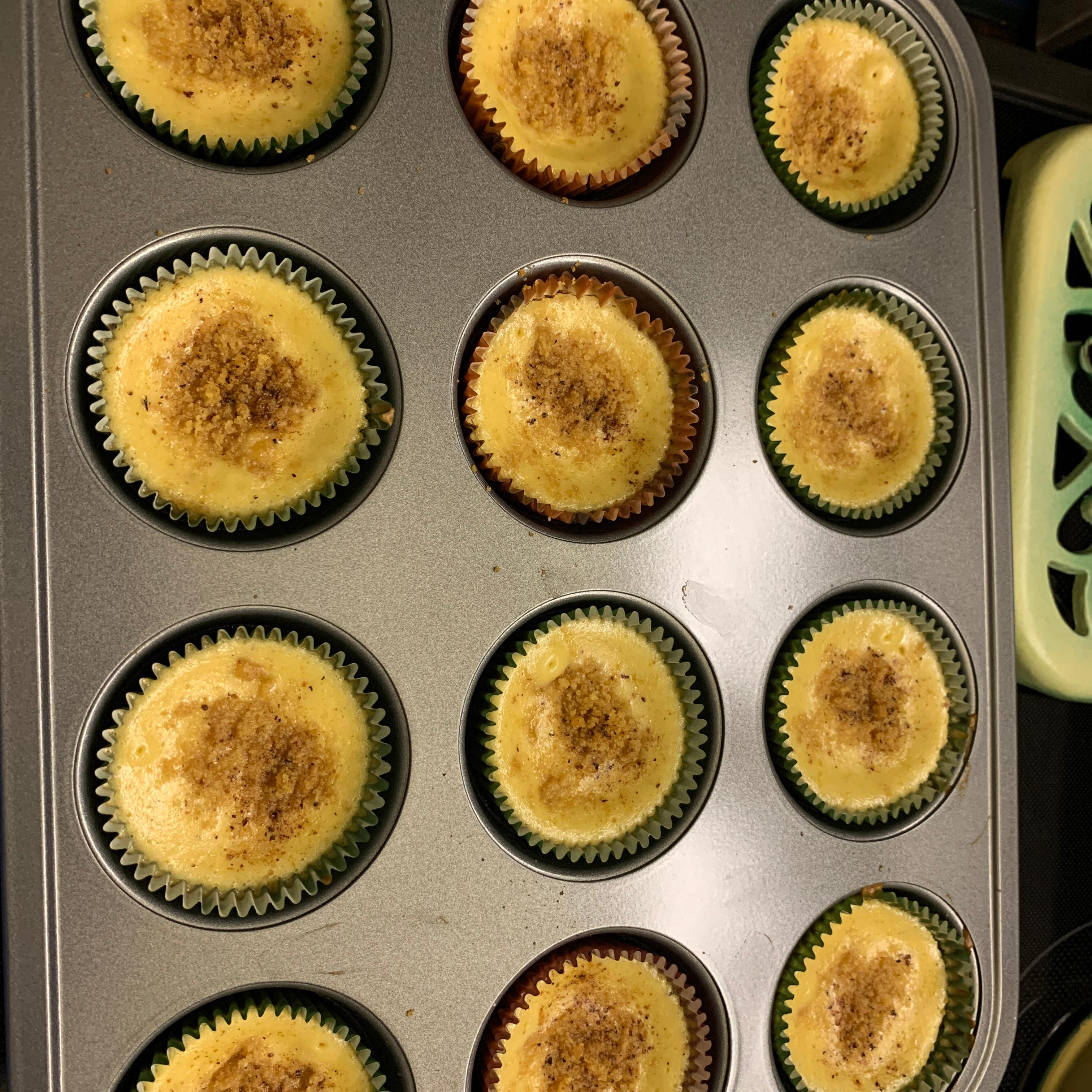 Mini Pumpkin Cheesecakes from Reddi-wip® Lorie Ann Bruning
