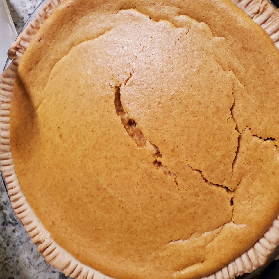 Pumpkin Cheese Pie Brittany Gregory