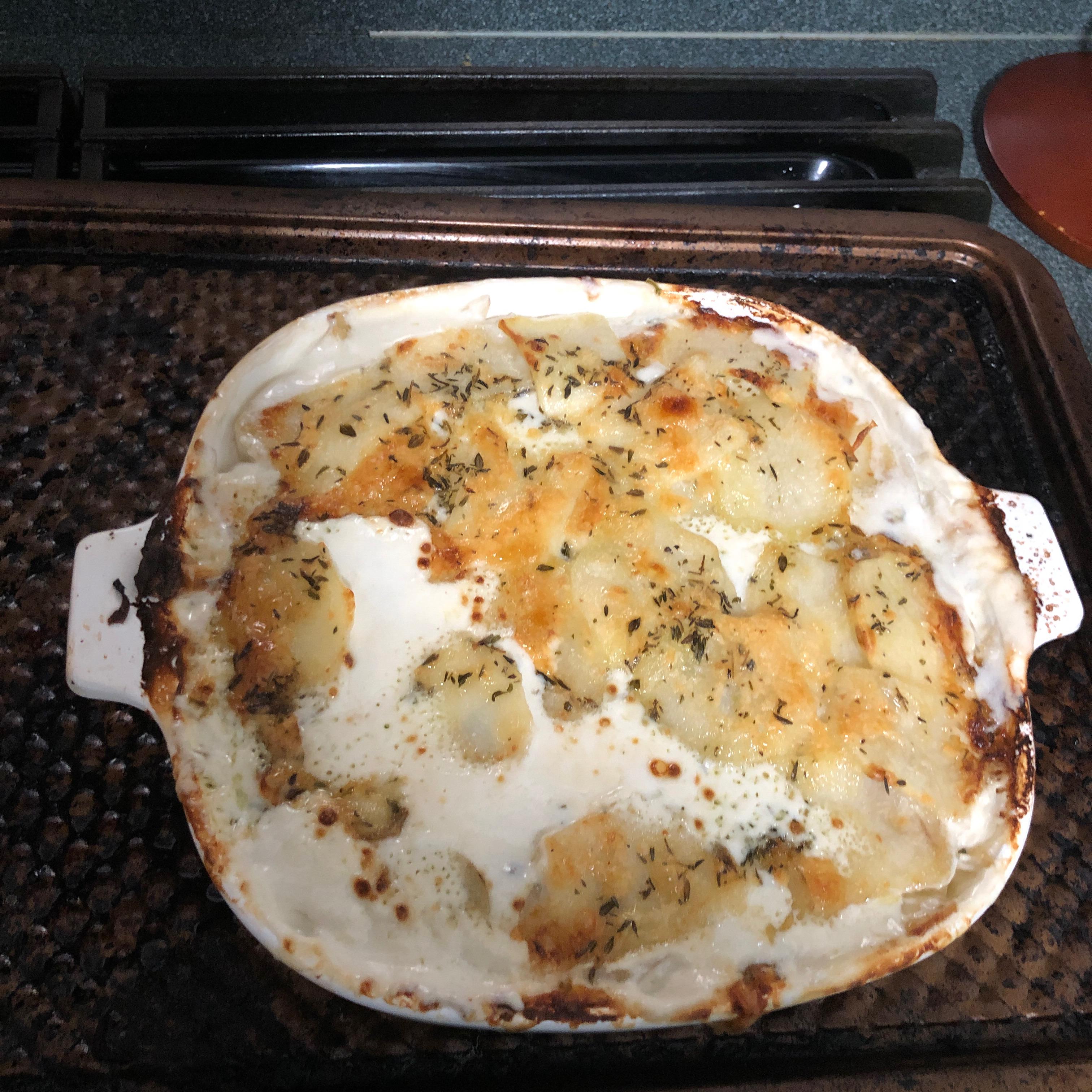 Chef John's Truffled Potato Gratin