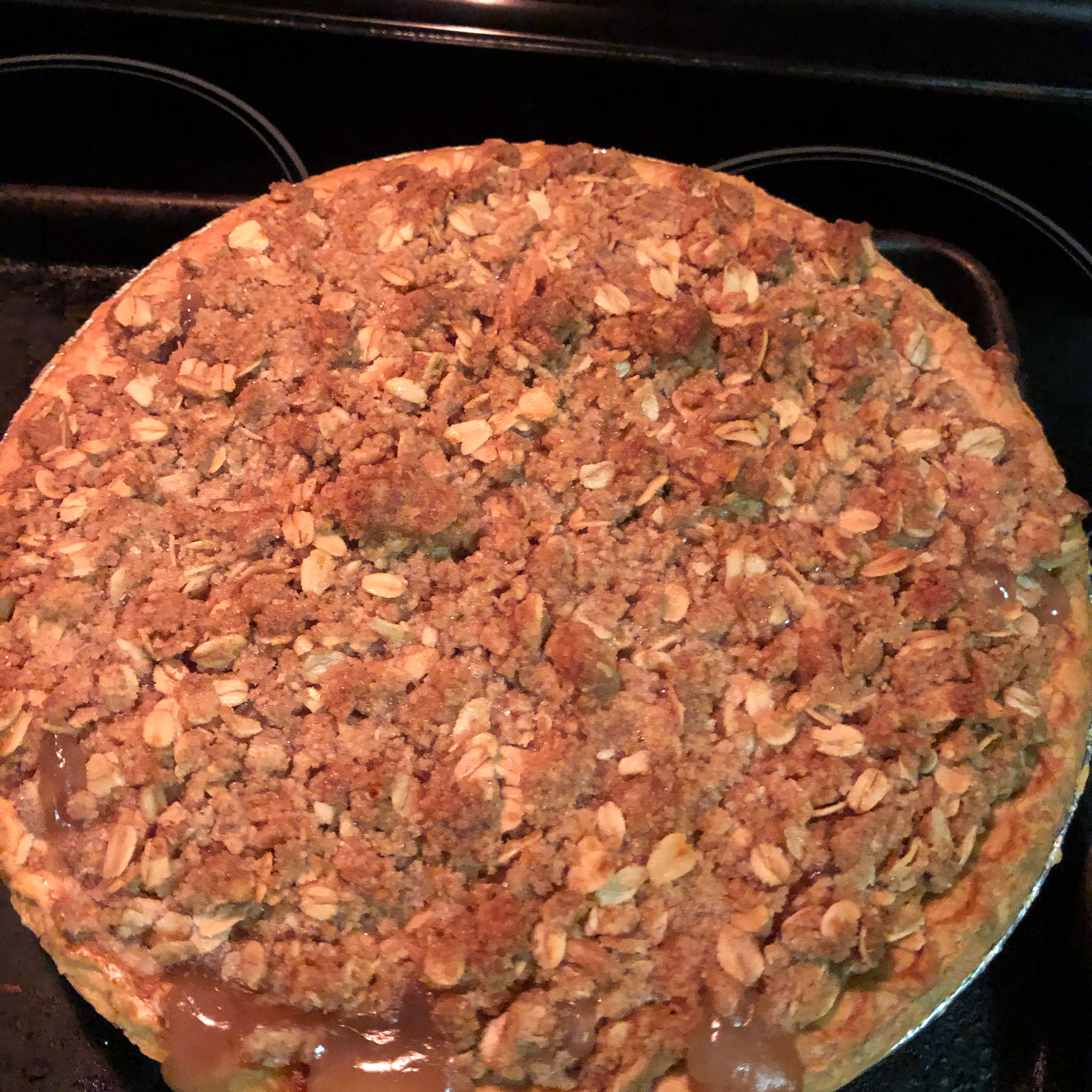 Deep-Dish Apple Pie with Crumble Topping dwbishop