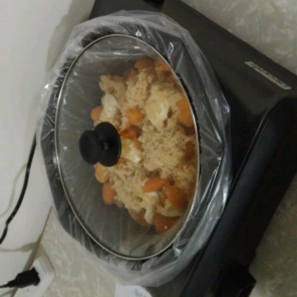 Slow Cooker Sweet Potatoes (Yams) and Marshmallows princessGillem