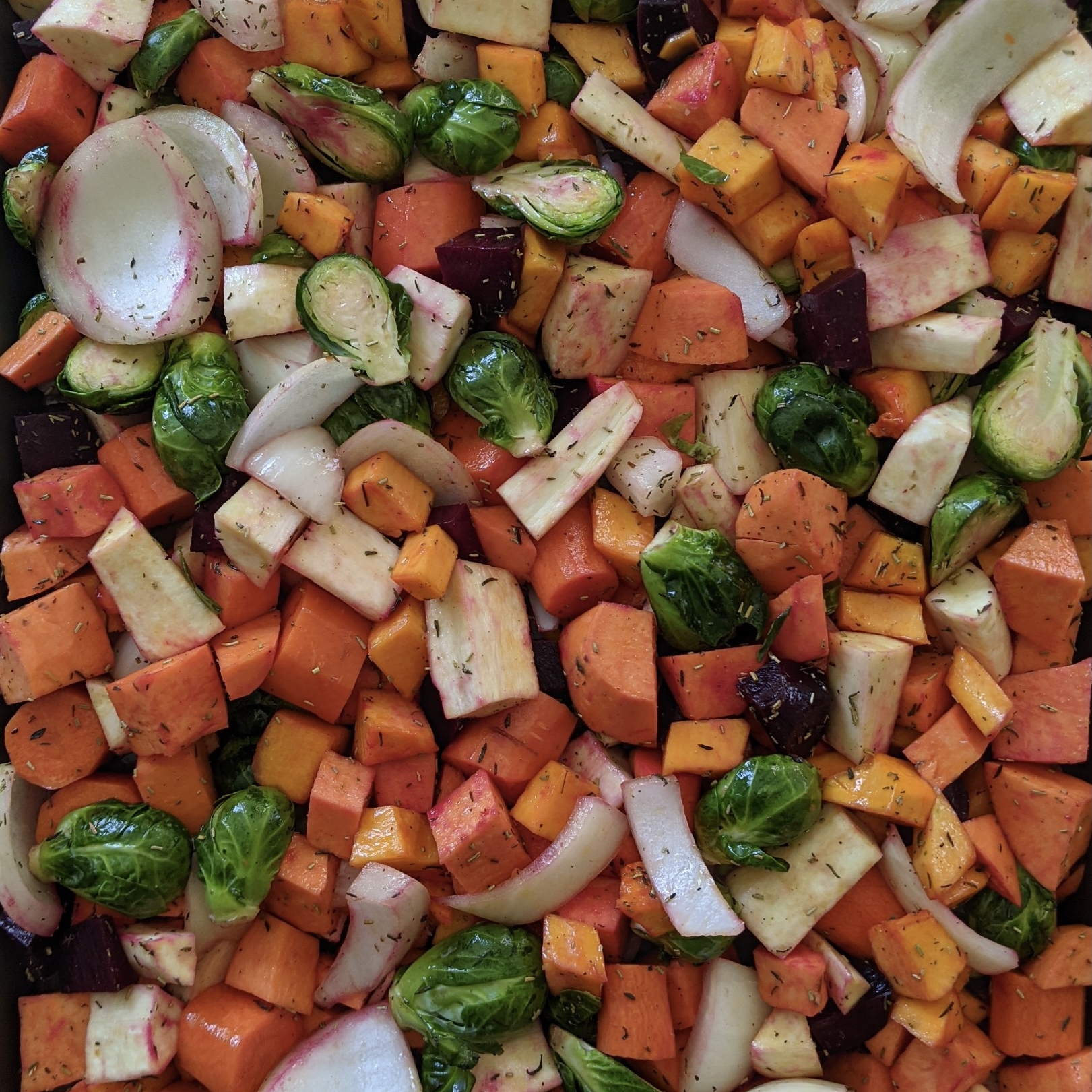Seasoned Roasted Root Vegetables Christie