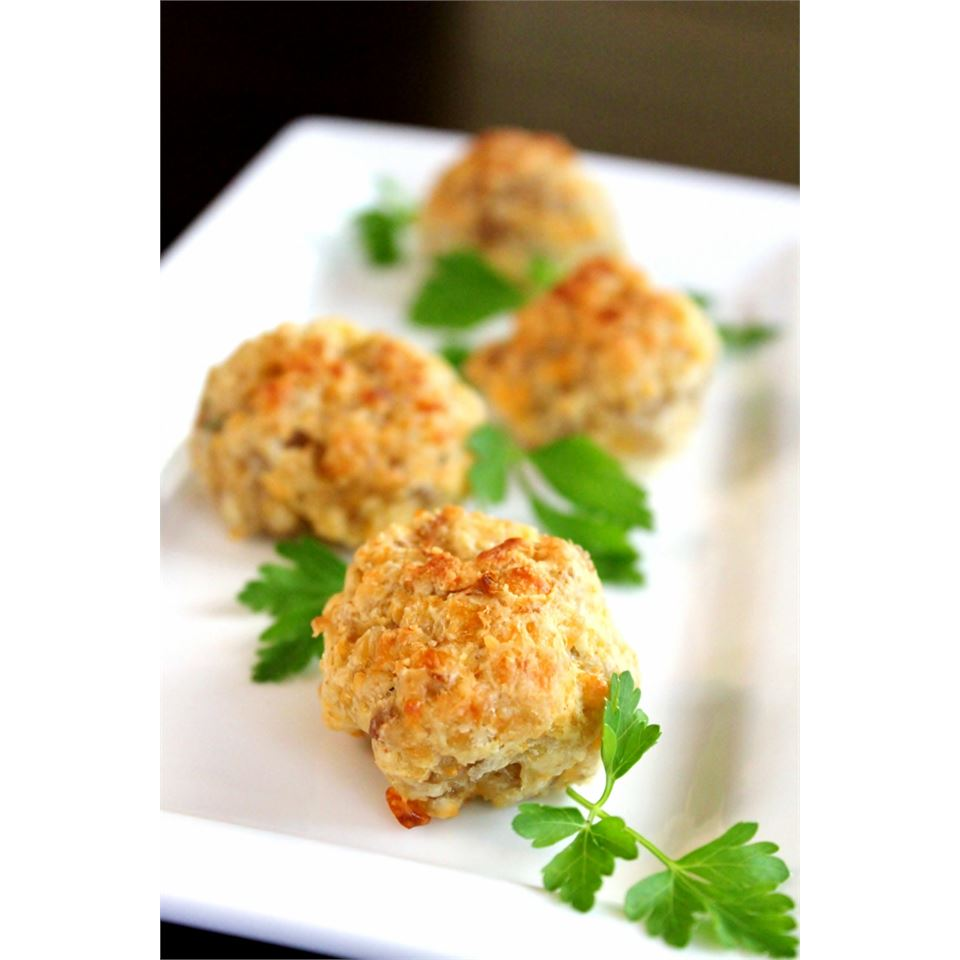 Parmesan and Parsley Sausage Ball Appetizer Melissa Goff