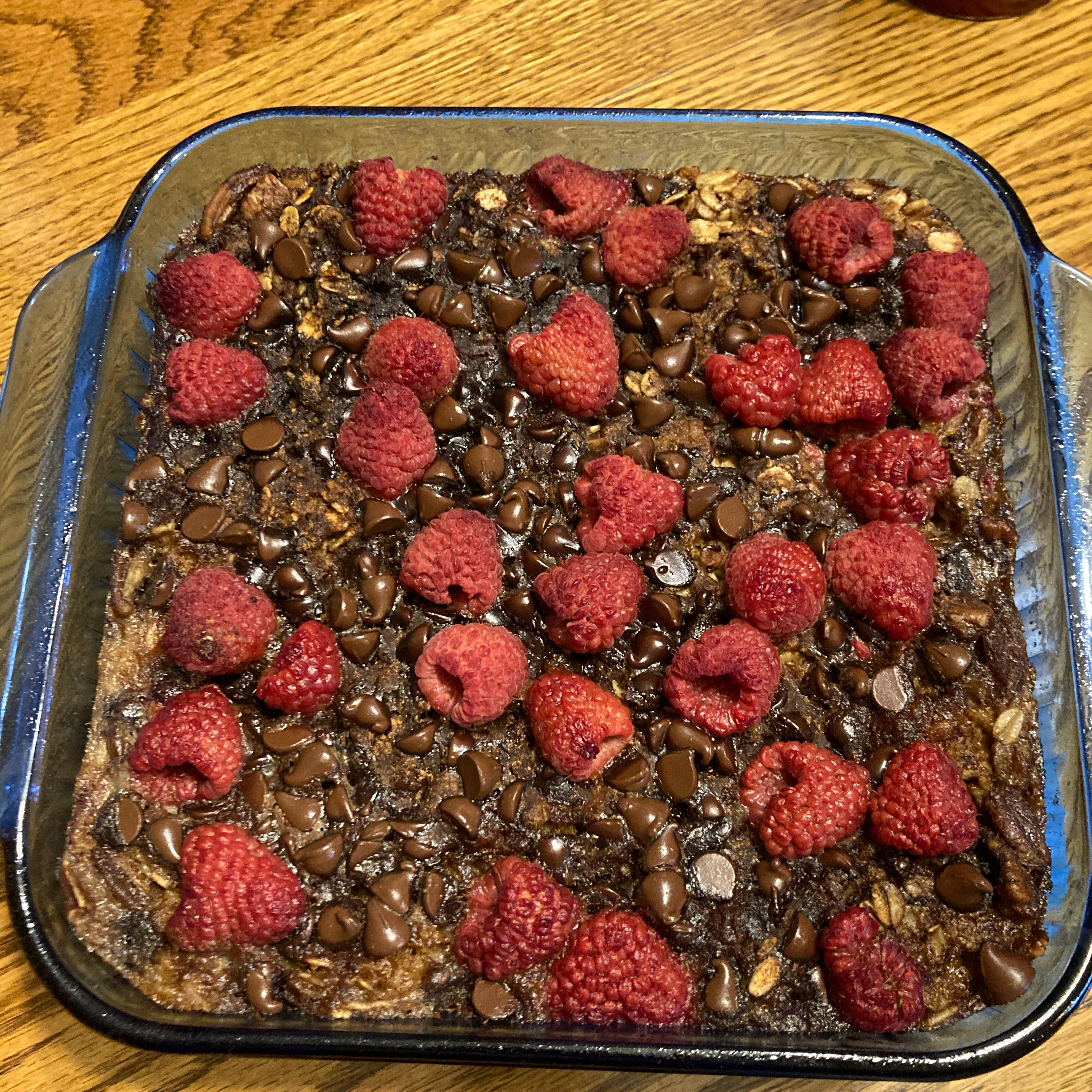 Chocolate Chip Baked Oatmeal Amy