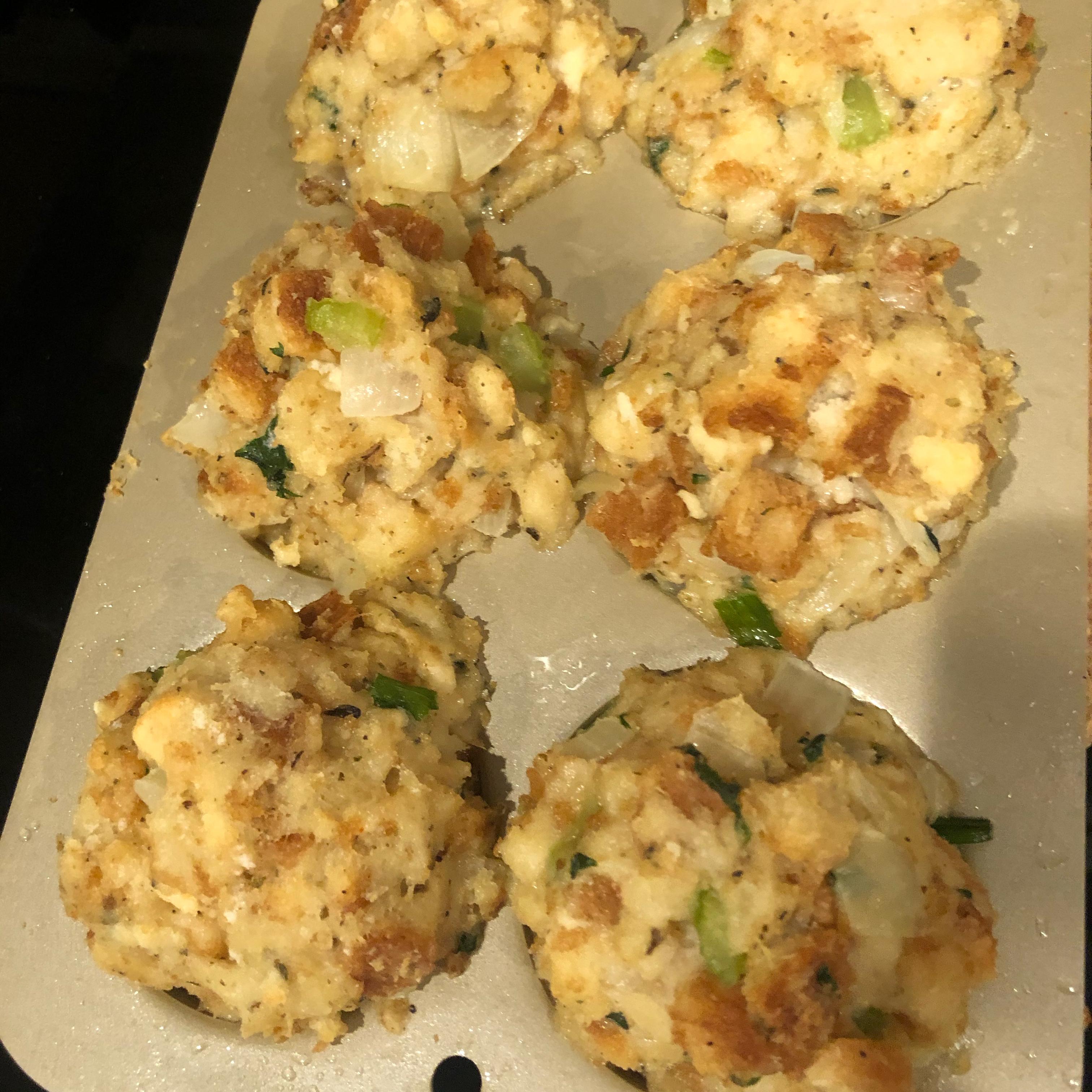 Gravy-Stuffed Stuffing Muffins Mary Davies