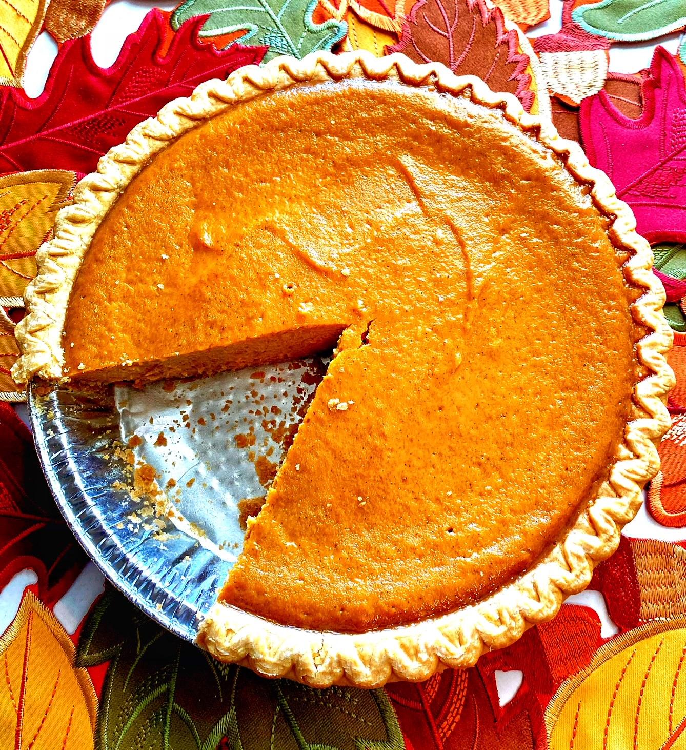 Simple Pumpkin Pie