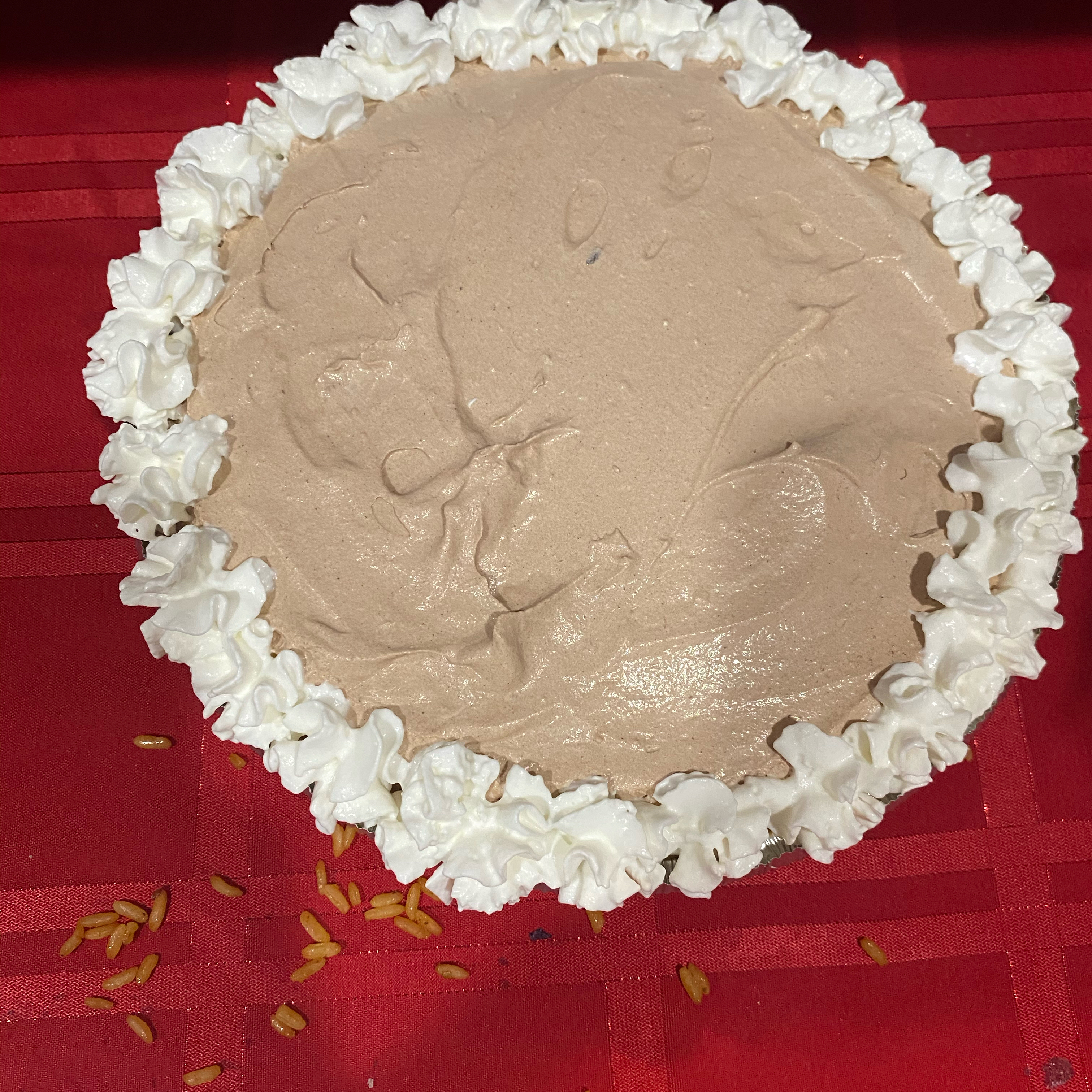 German Sweet Chocolate Pie