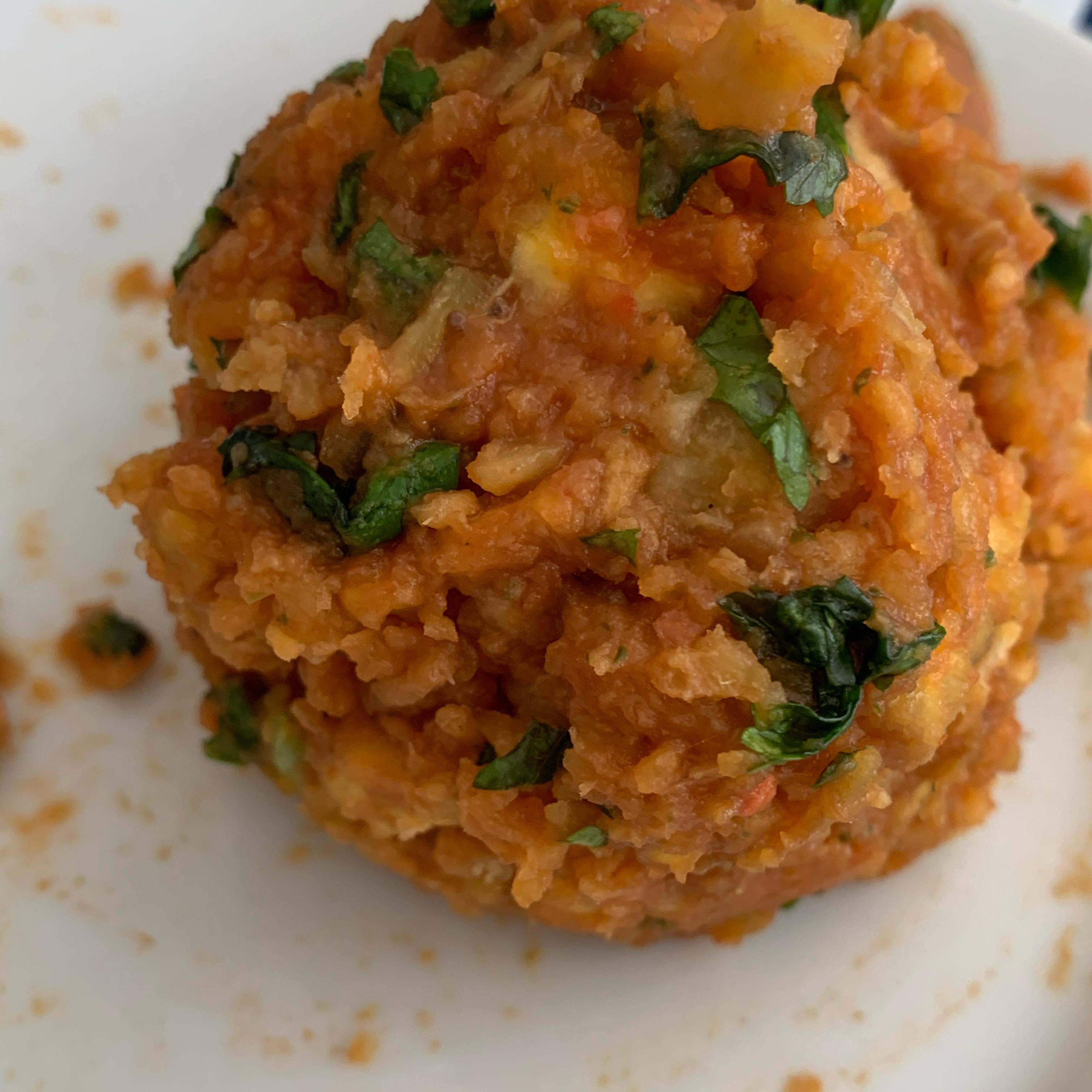 Vegan Mofongo (Fried Mashed Plantains) Joselyn Ramirez