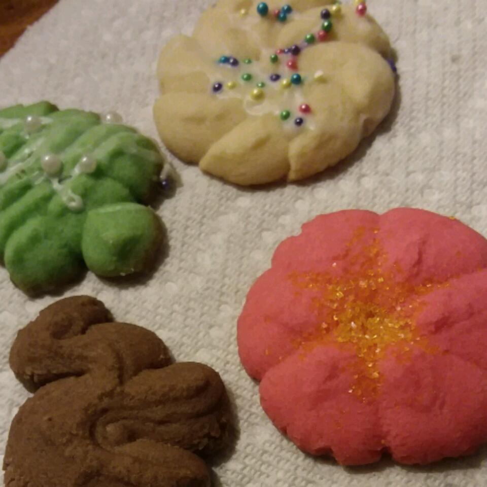 Holiday Spritz Cookies pam551
