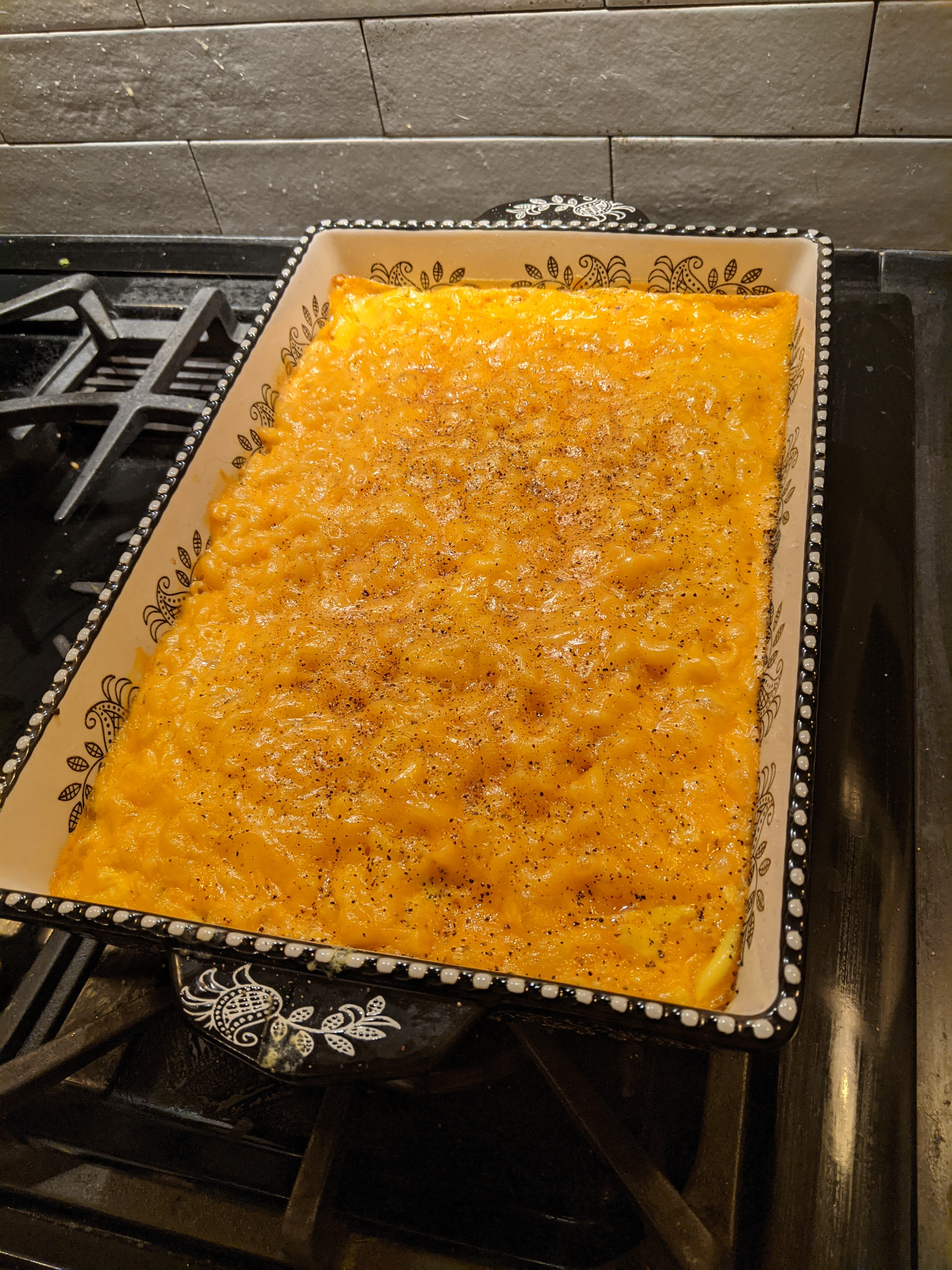 Grandma's Southern Mac and Cheese Chefdave
