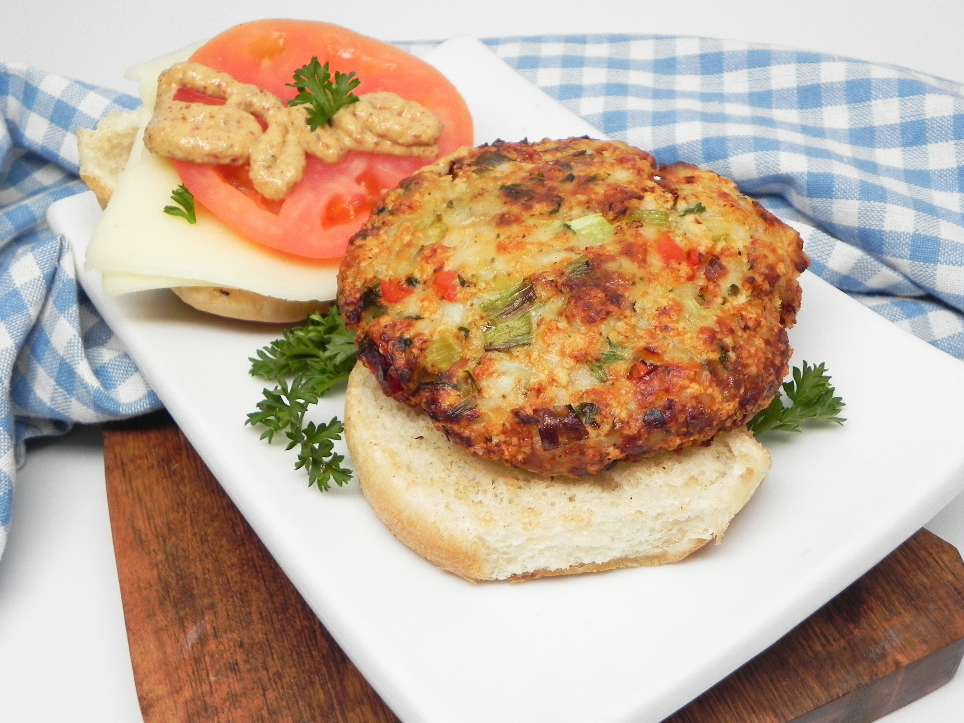 Tilapia Burger Patties