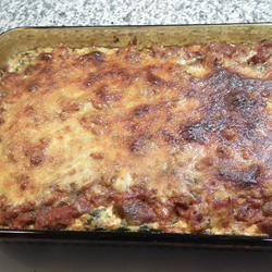 Spinach, Sausage and Cheese Bake Valerie Weiler-Hinch