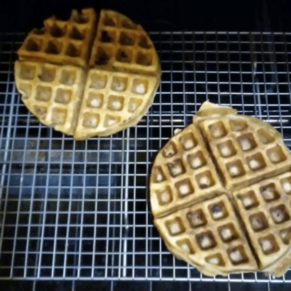 Sam's Sourdough Waffles