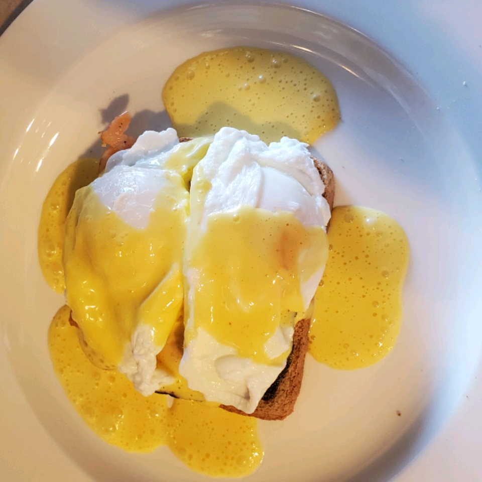 Quick and Easy Eggs Benedict Brandi Foster