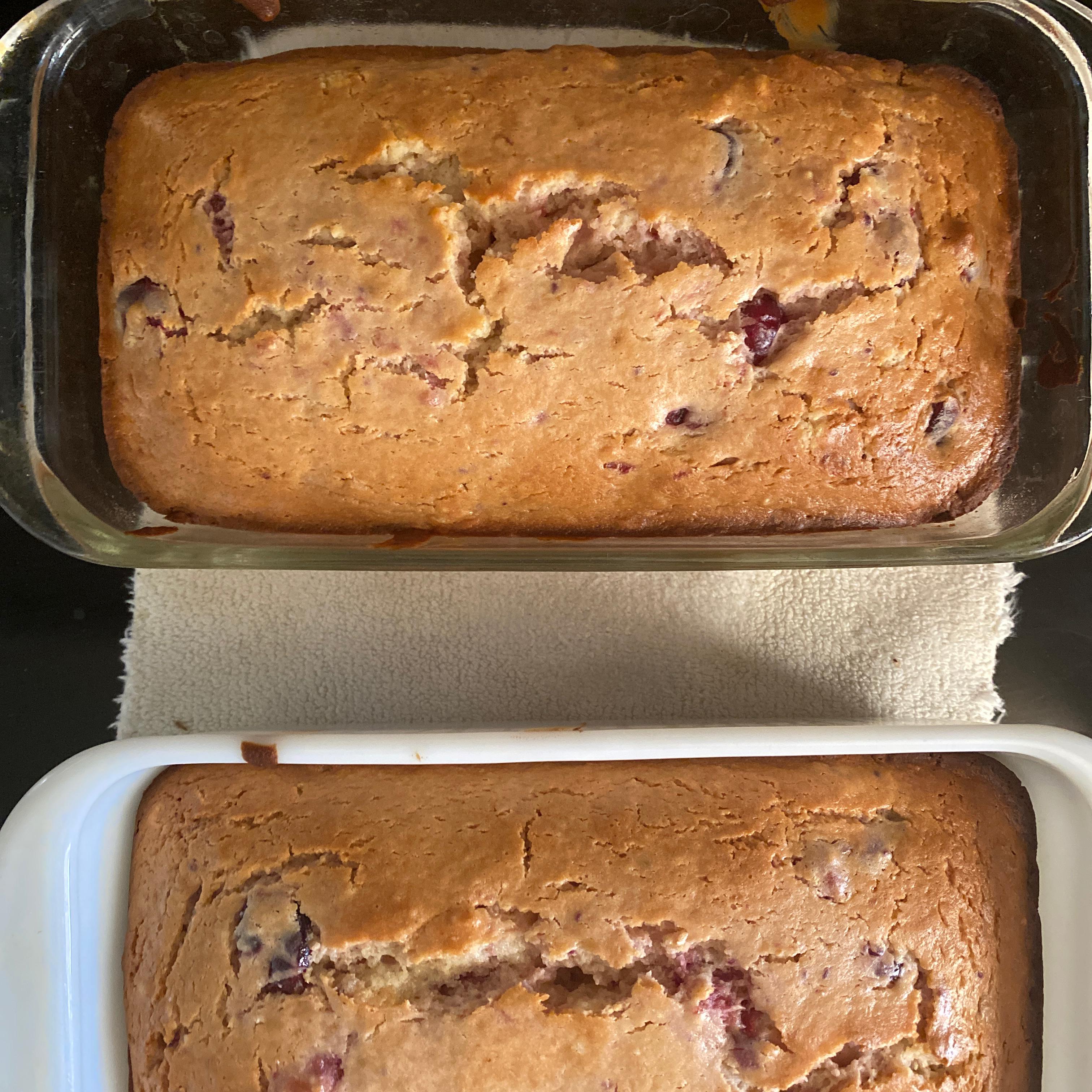 Cranberry Orange Quick Bread Geri St Lucia