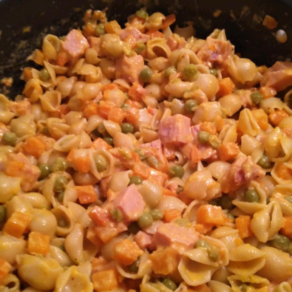 Ham and Shell Salad Dustin cox