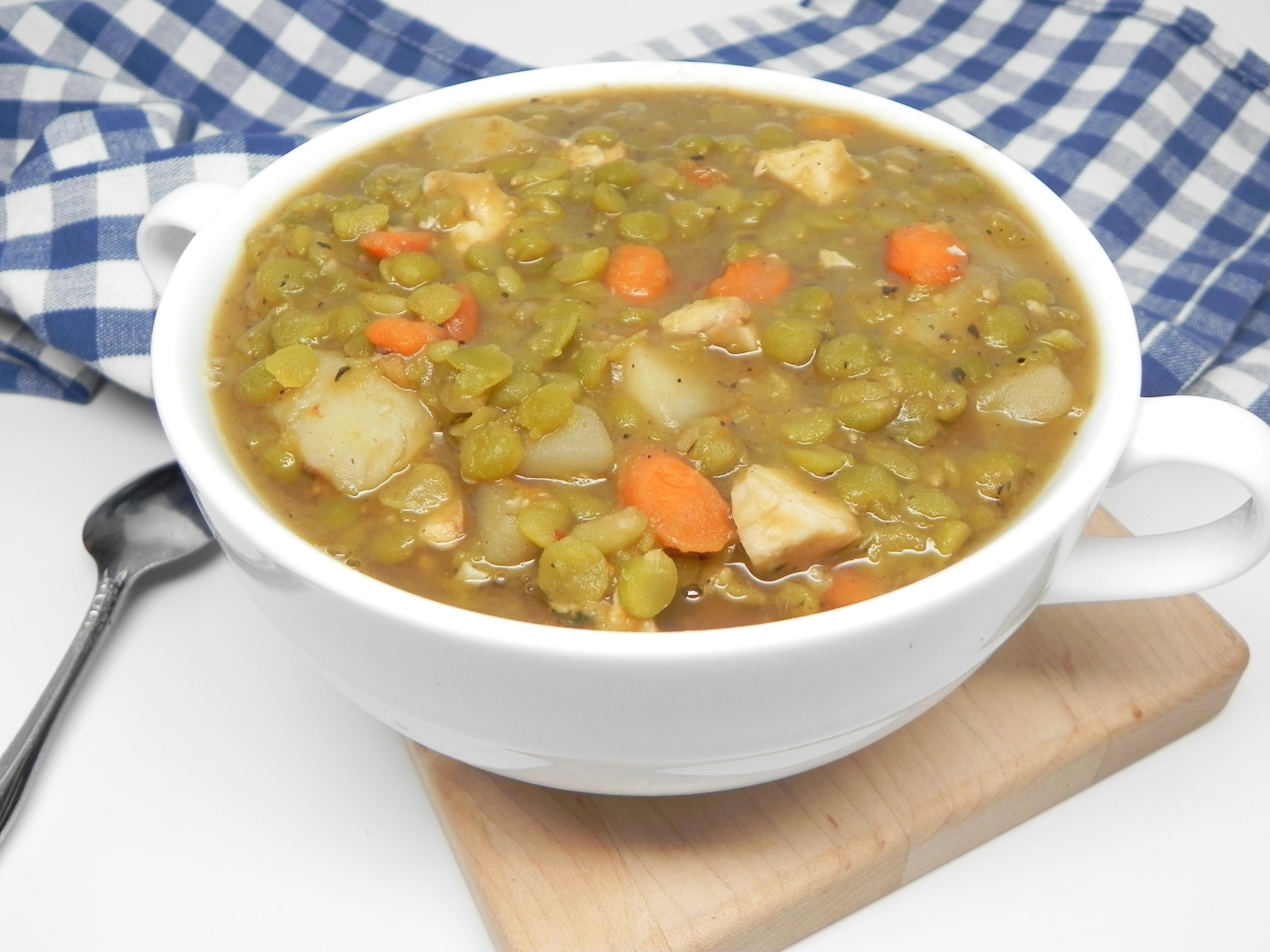 Smoked Turkey Split Pea Soup