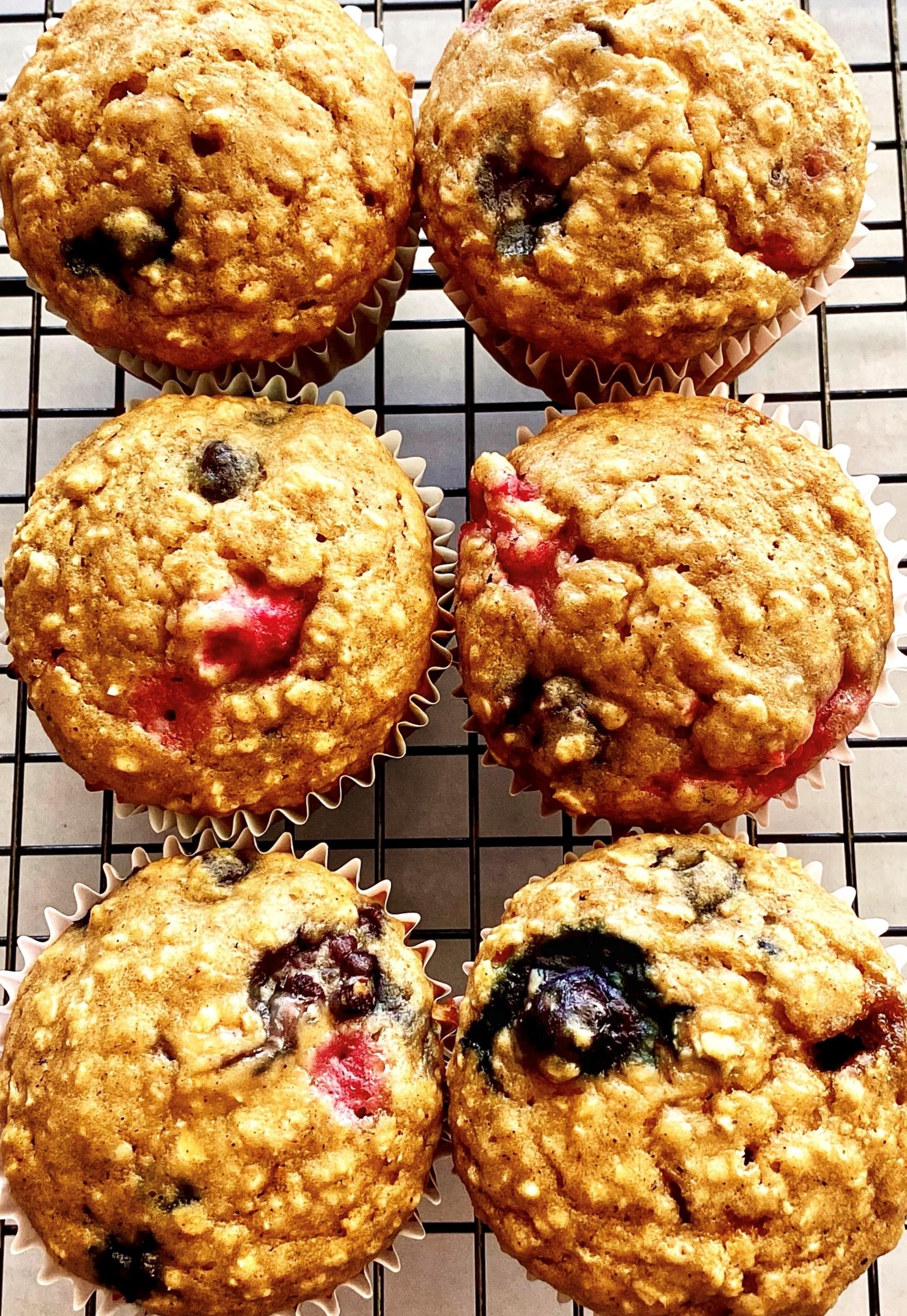 High-Fiber Breakfast Muffins