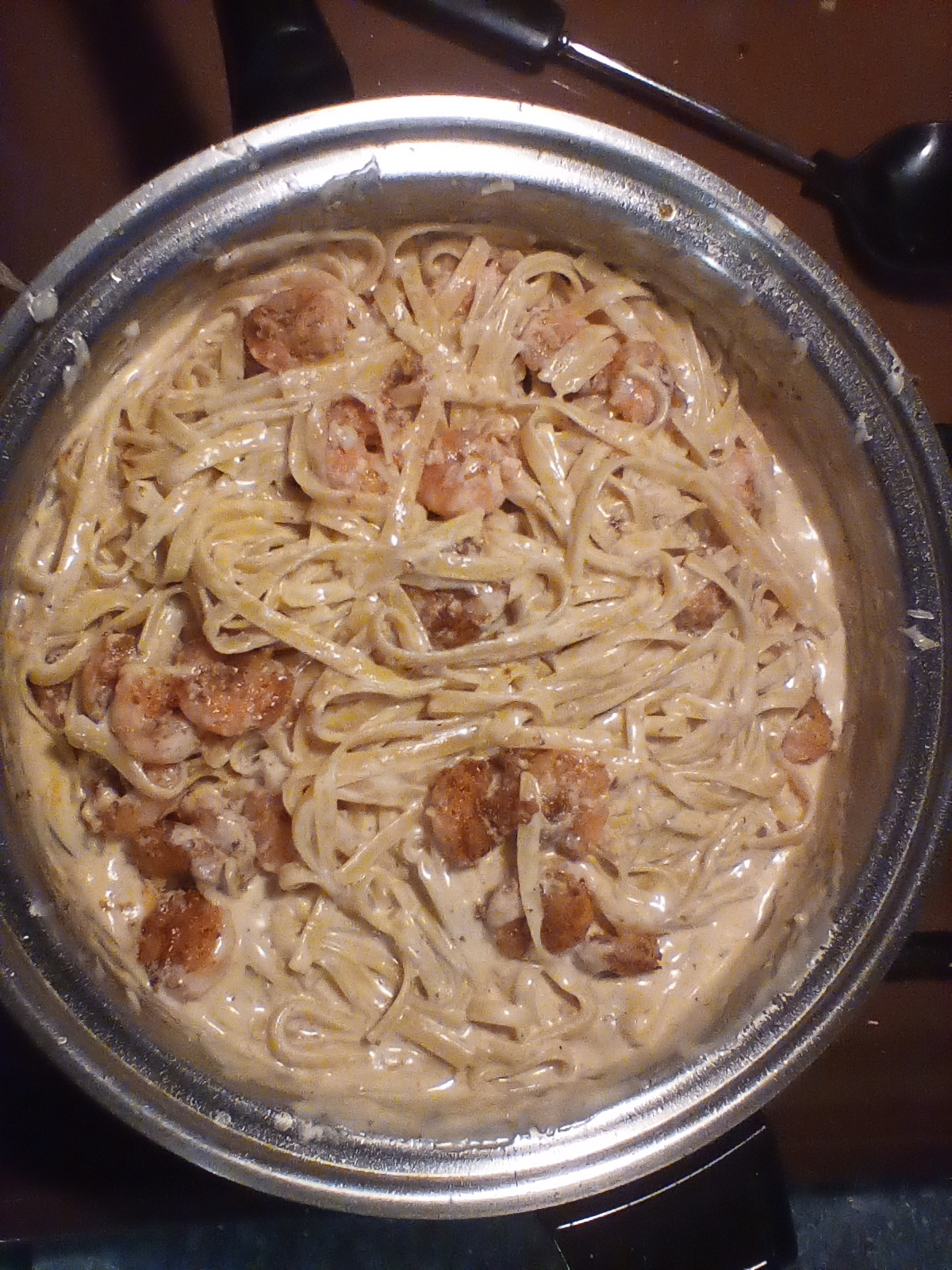 Cajun Shrimp Fettuccine Alfredo Adriana A Scott