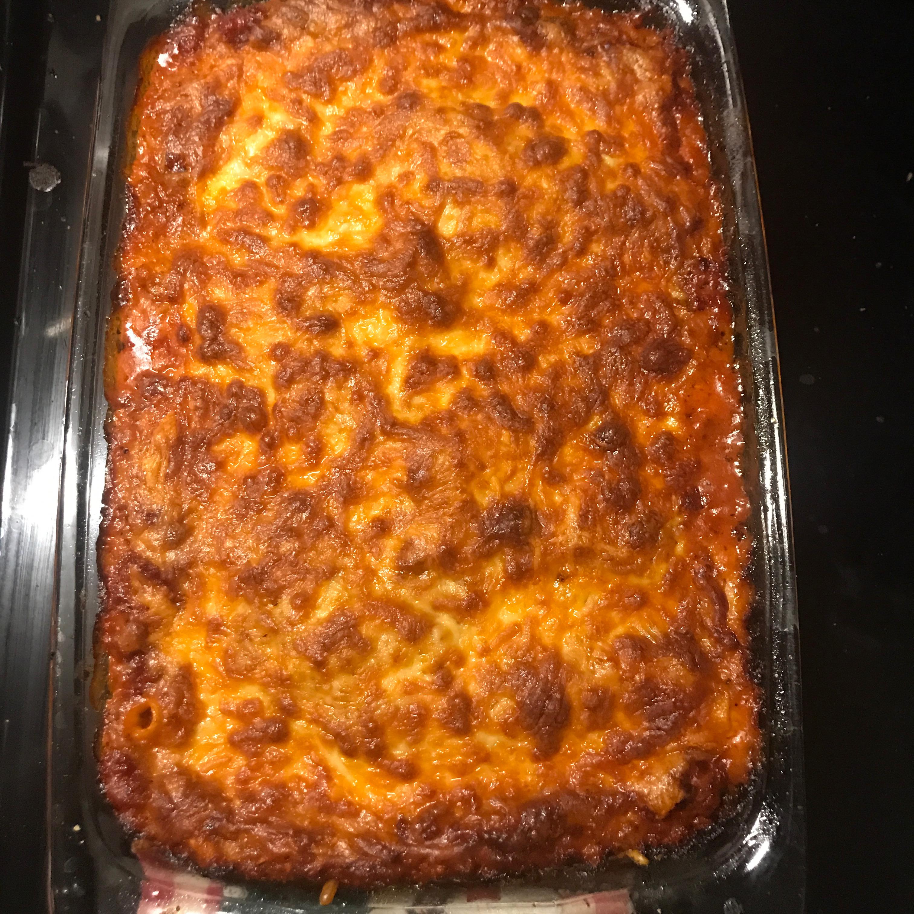 Bob's Awesome Lasagna Caitlin