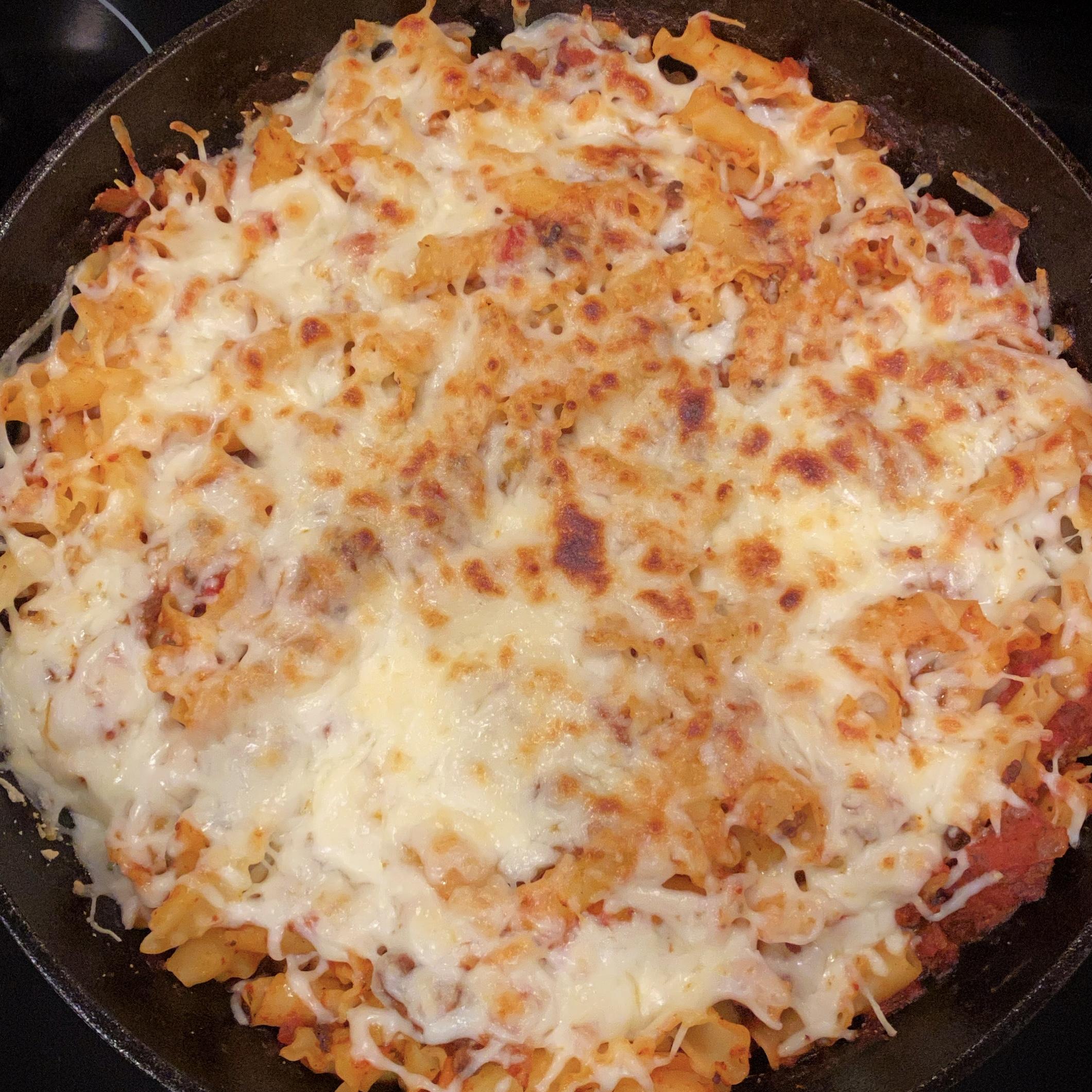 Skillet Lasagna karachromatic