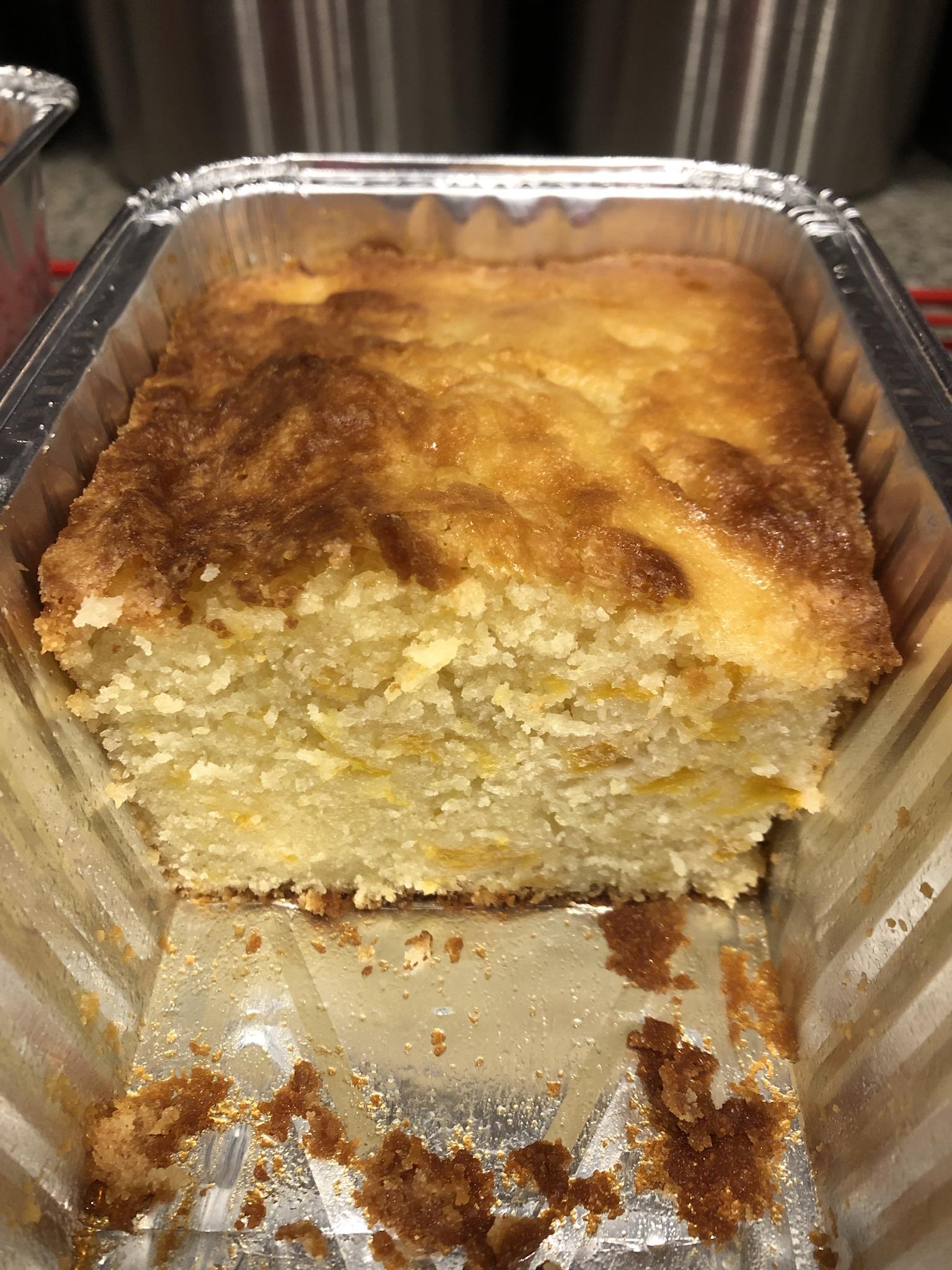 Moist Peach Pound Cake CIN3