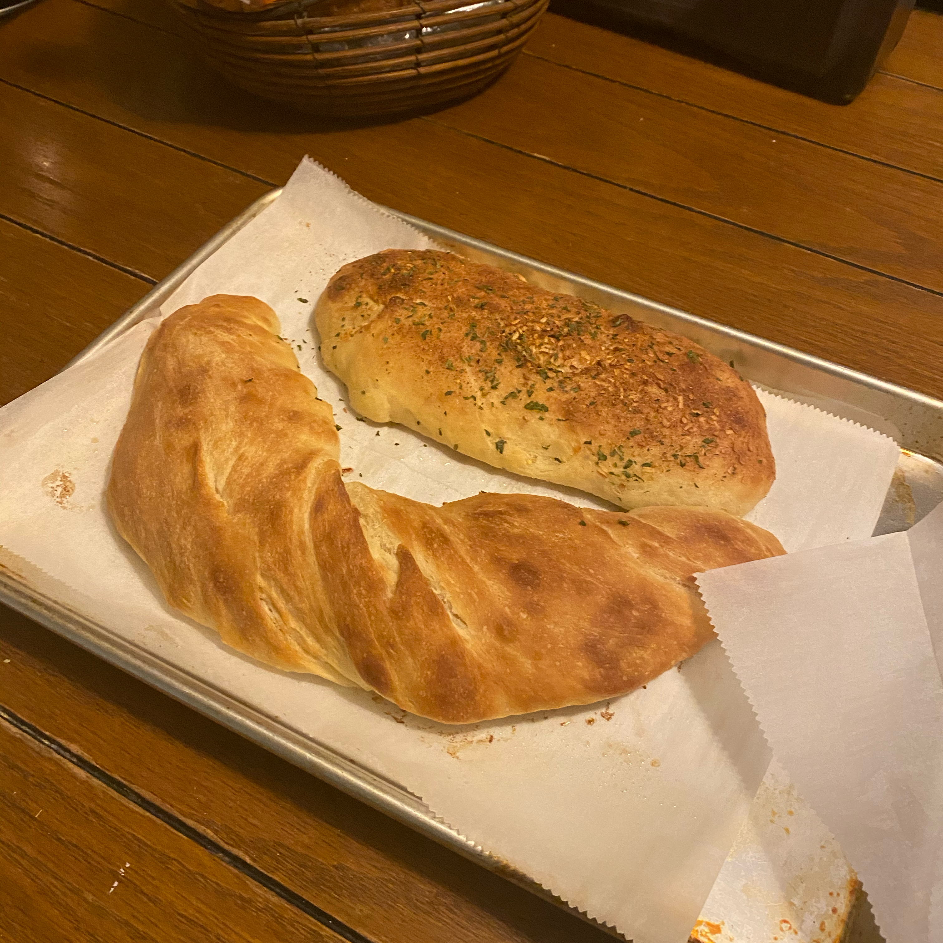 Breadsticks with Parmesan Butter Ms.Rittenhouse