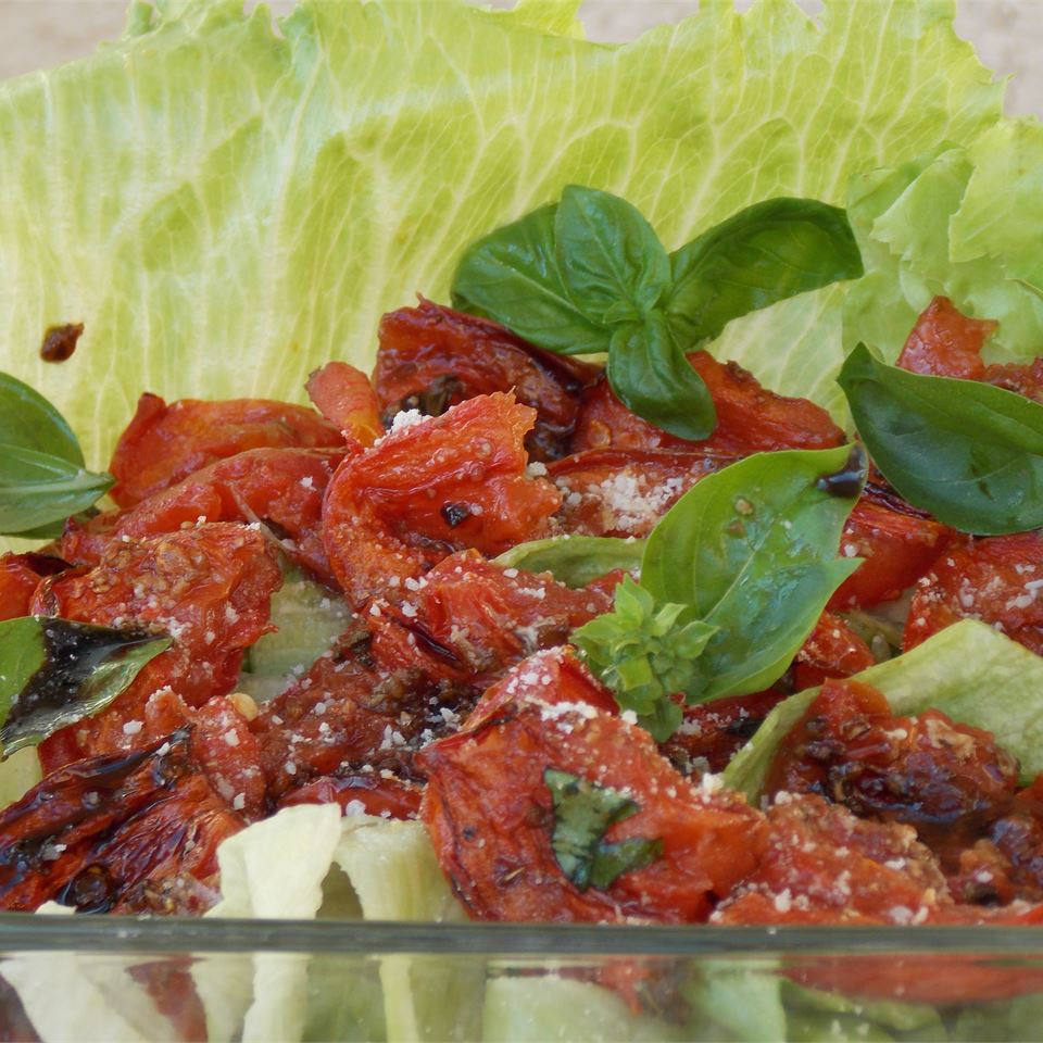 Roasted Tomato Salad Baking Nana