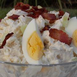 Bacon Potato Salad - Family Legacy Baking Nana