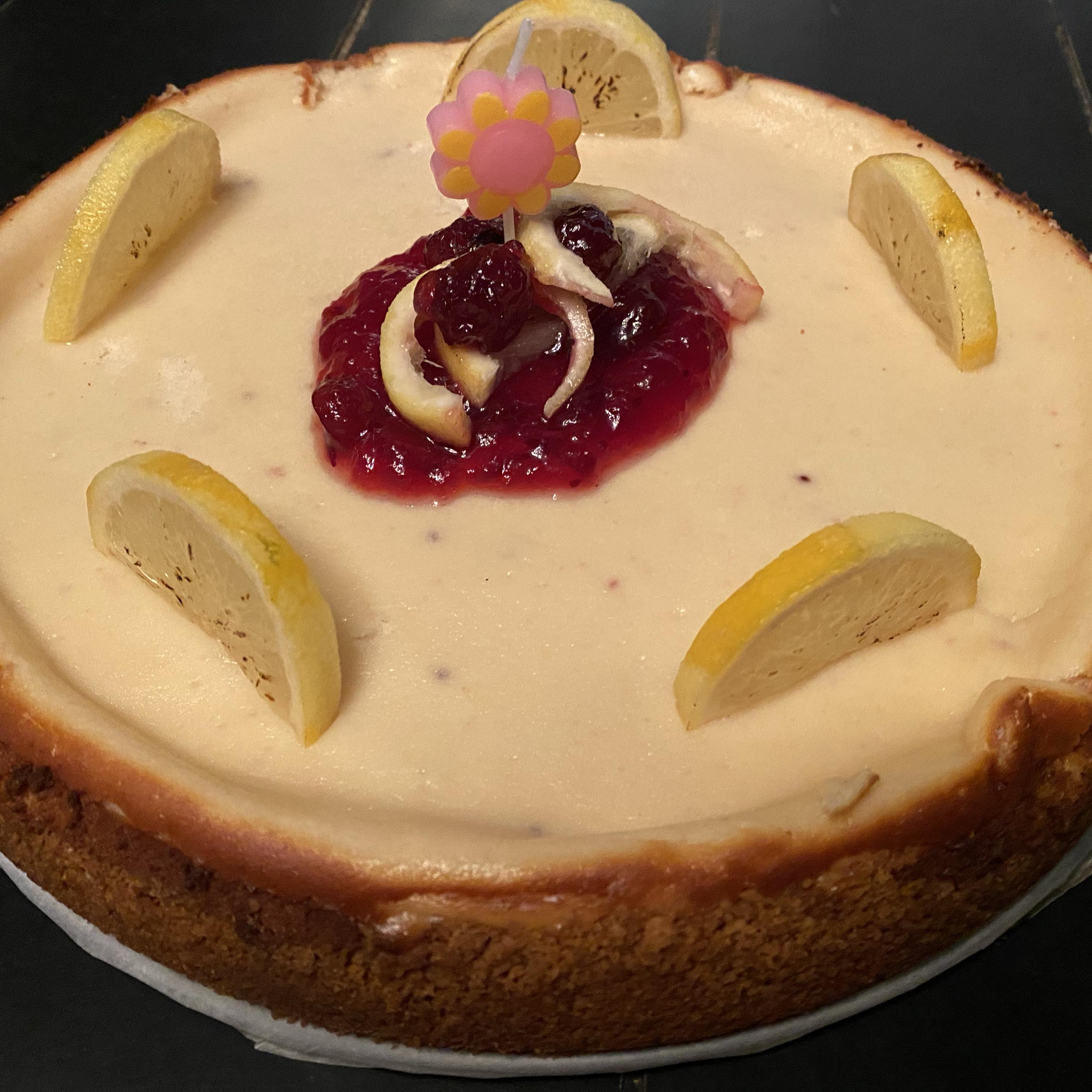 Lemon-Lime Cheesecake