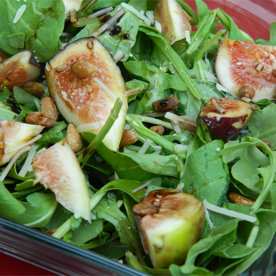 Fig and Arugula Salad Stirring up Trouble