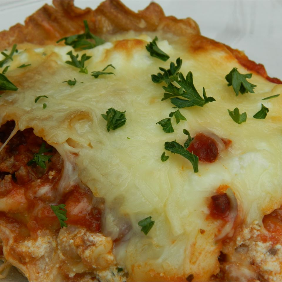 Healthier World's Best Lasagna