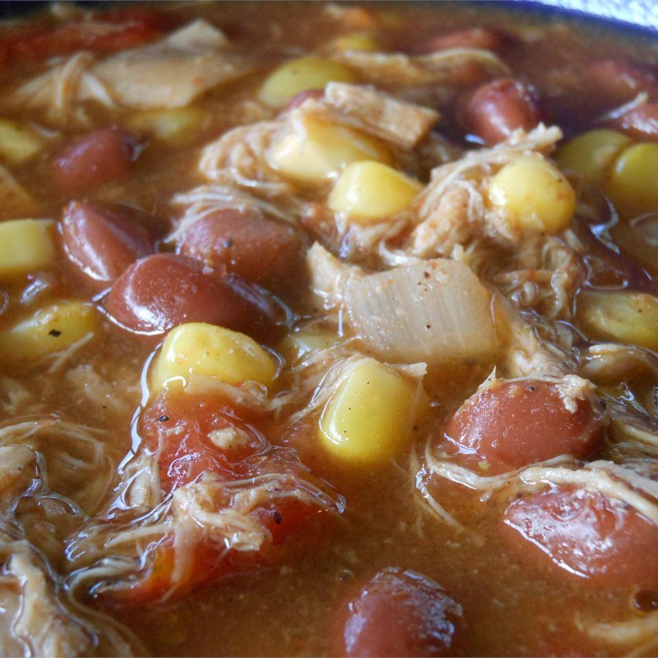 Chicken Enchilada Soup SunnyDaysNora