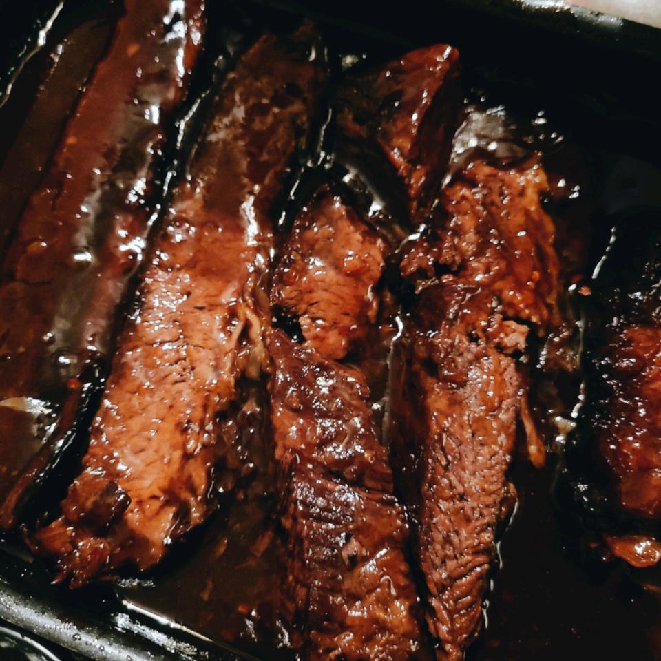 Oven Barbecued Beef Brisket II