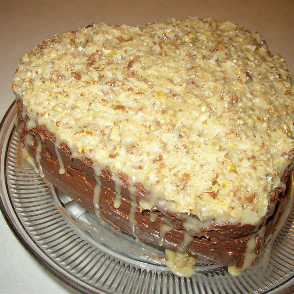 Moist German Chocolate Cake